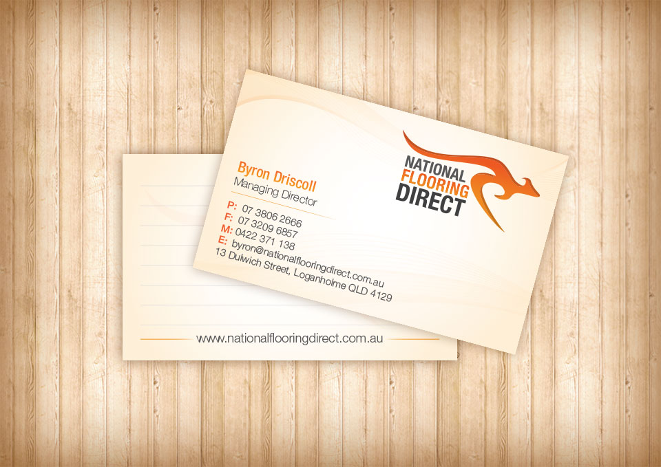 Exceptional NationalFlooringDirect Business Cards