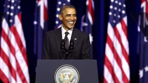 Barack Obama at the Brisbane Speech