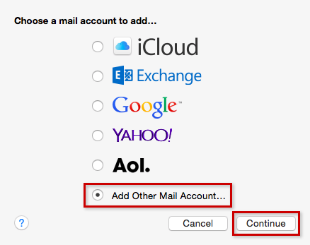 step 2 apple mail
