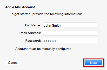 step 3 apple mail