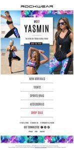 Rockwear - Email Newsletter