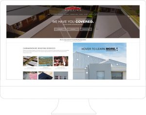 Canarvon Roofing - Website Design