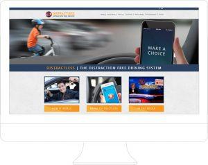Distractless - Website Design