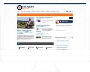 Golf Industry Central - Website Design