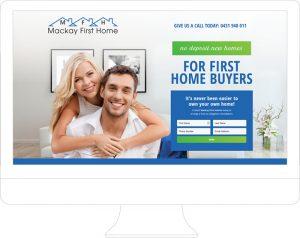 Mackay First Home - Website Design