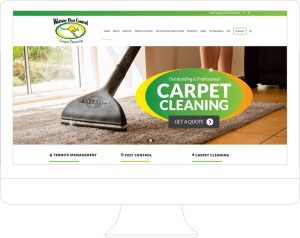 Wallaby Pest Control Website Design