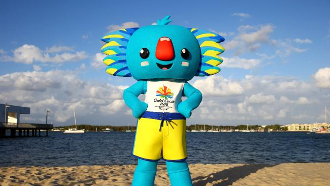 borobi commonwealth games mascot