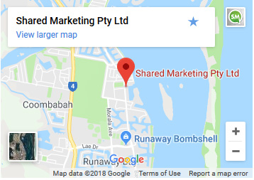 shared marketing google maps
