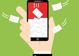 Spam emails flying into mobile phone email inbox