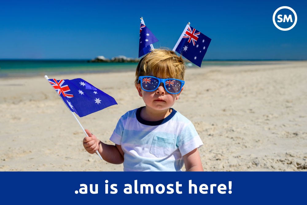 Australia's Newest Domain Name Is Almost Here - .au